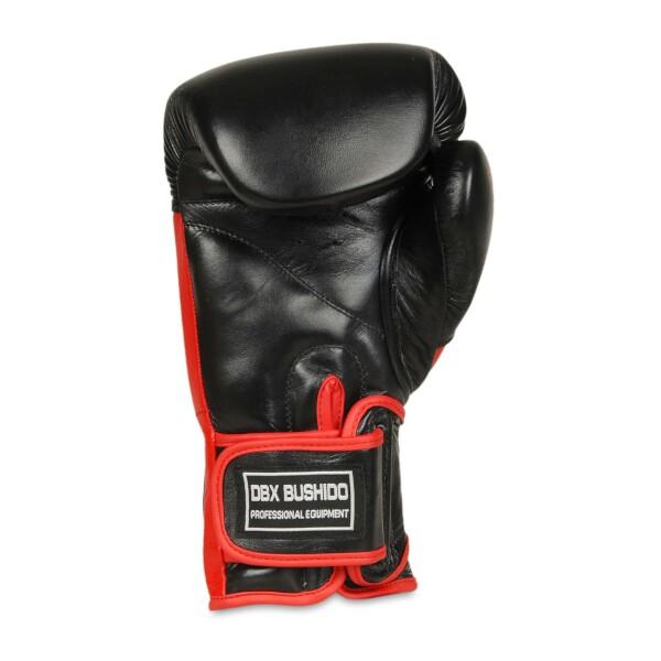 Boxerské rukavice BB4 - přírodní kůže DBX BUSHIDO inside 1