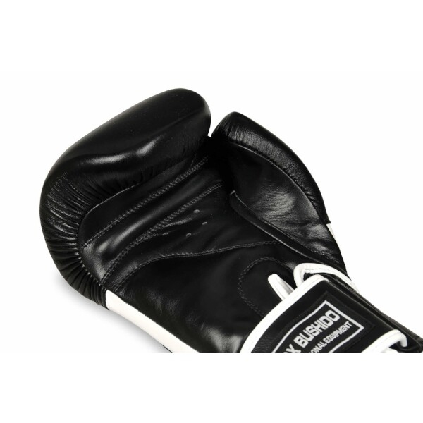 Boxerské rukavice BB5 - přírodní kůže DBX BUSHIDO detail