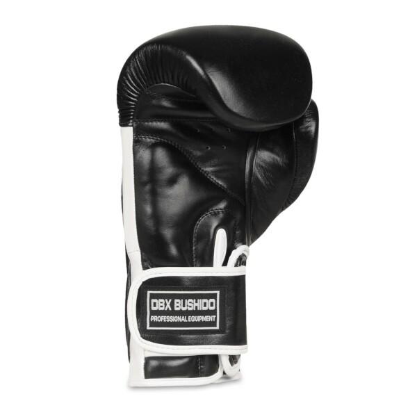 Boxerské rukavice BB5 - přírodní kůže DBX BUSHIDO inside