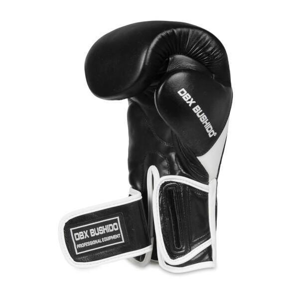 Boxerské rukavice BB5 - přírodní kůže DBX BUSHIDO uzavírání