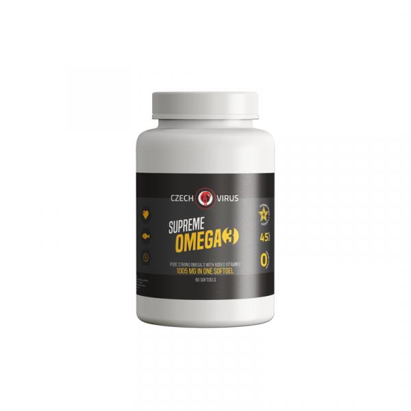 CZECH VIRUS Supreme Omega 3 - 90 kapslí
