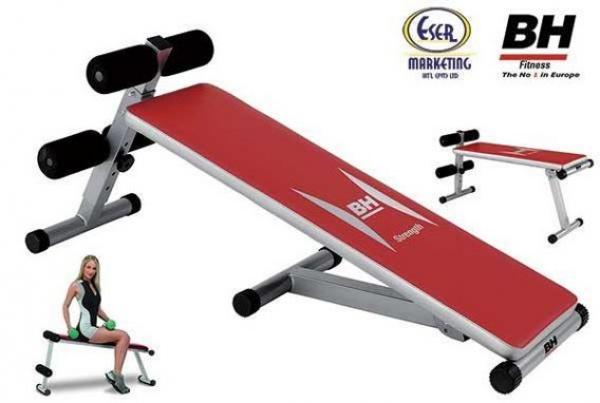 Posilovací lavice na břicho ATLANTA-300-G59X-BH-Fitness