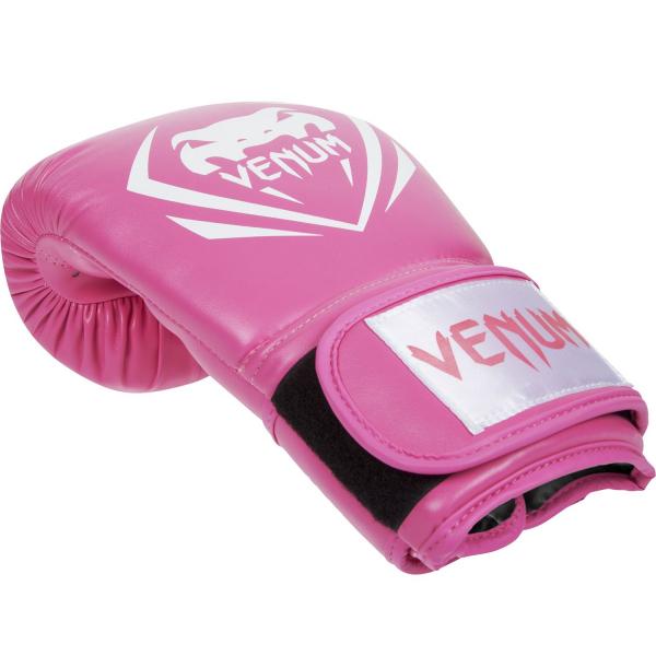 Boxerské rukavice Contender růžové VENUM vel. 8 oz single