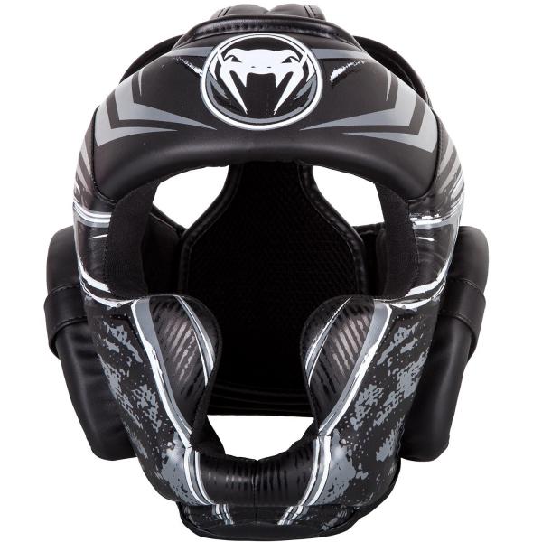 Chránič hlavy Gladiator 3.0 černo bílý VENUM přední strana