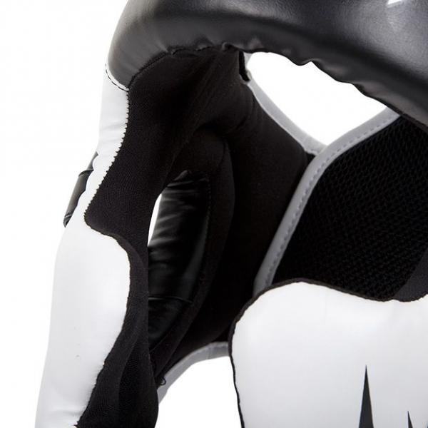 Chránič hlavy Challenger 2.0 černo bílý VENUM detail