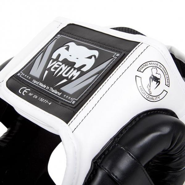 Chránič hlavy Challenger 2.0 černo bílý VENUM zapínání