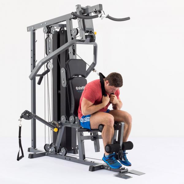 Posilovací věž  TRINFIT Gym GX6 cvik 12