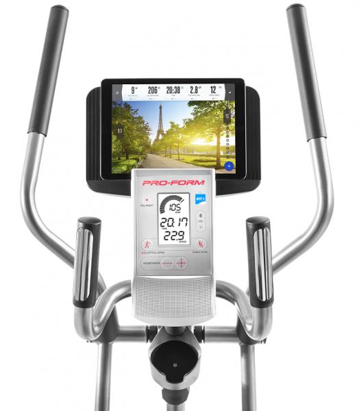 Recumbent Rotoped PROFOM Hybrid Trainer držák na tablet