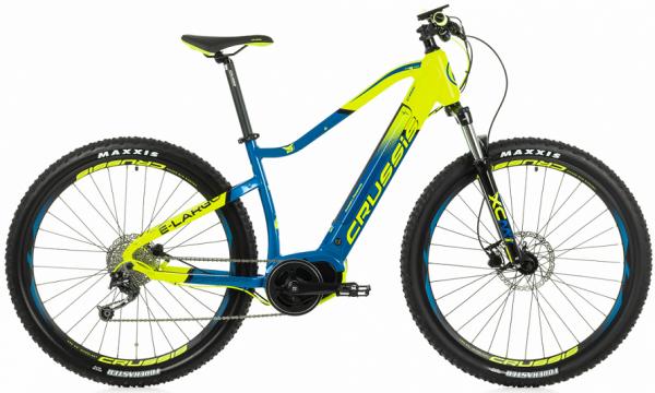 Elektrokolo Crussis e-Largo 7.5 20 modro-zelená profil