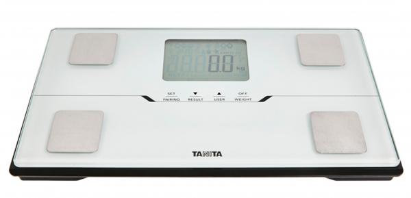 Osobní digitální váha tanita bc-401 bílá 3