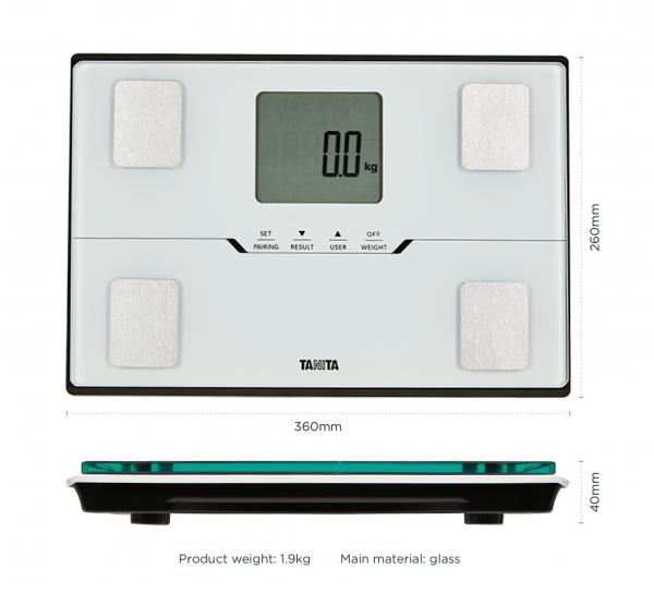 Osobní digitální váha tanita bc-401 bílá