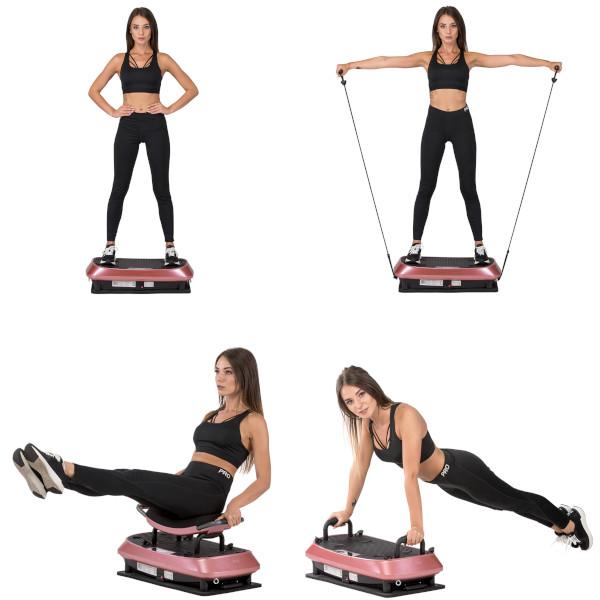 Vibrační deska Vibrační plošina SKY SVP21 různé možnosti cvičení