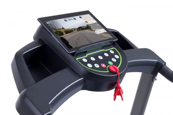 Běžecký pás HouseFit Tempo 10 držák na tablet