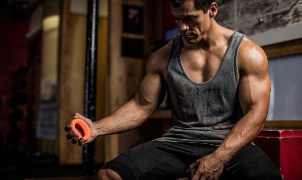 Sada posilovacích kroužků Ergo Grip Strength System HARBINGER workout