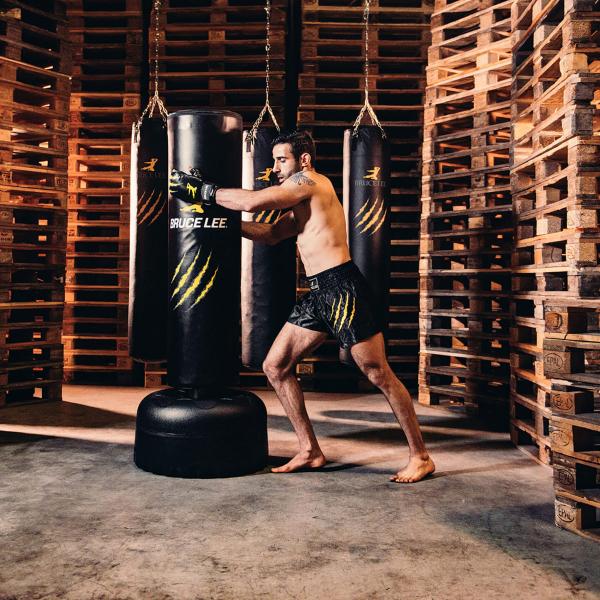 Volně stojící pytel Free Stand Punch Bag BRUCE LEE workout 1