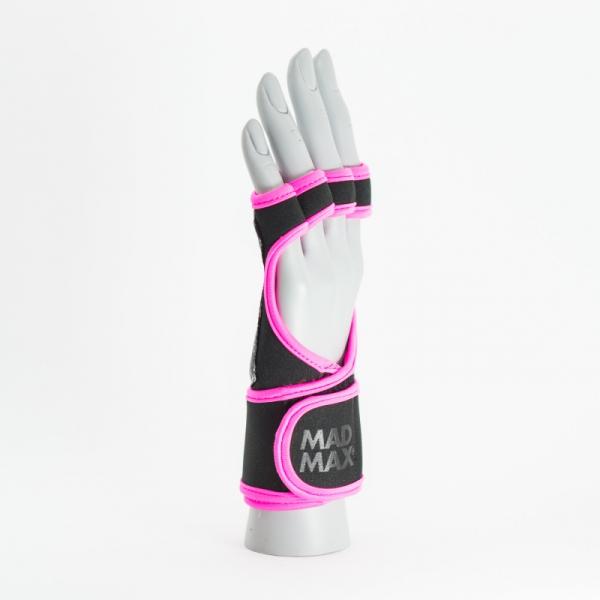 Max Grip neoprene wraps MADMAX černá růžová side 1