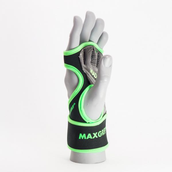 Max Grip neoprene wraps MADMAX černá zelená side 1