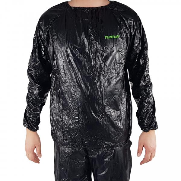 Sauna oblek TUNTURI černý detail
