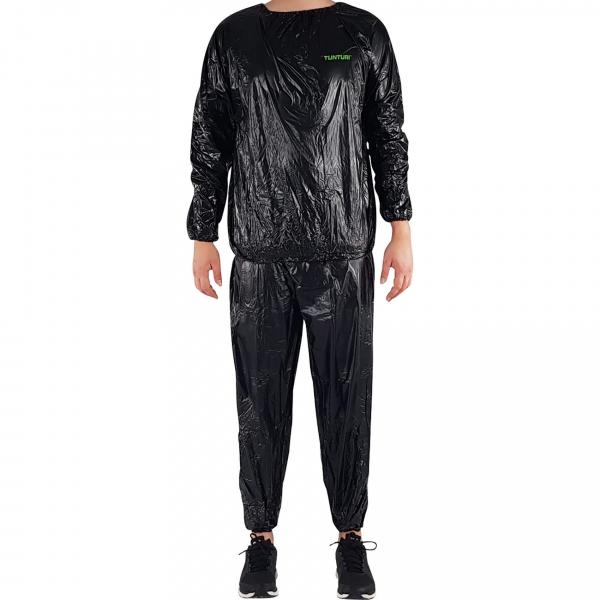Sauna oblek TUNTURI černý full body
