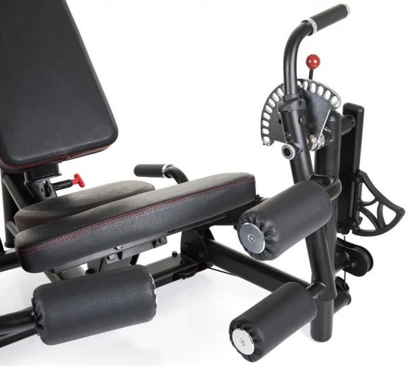 Finnlo Dual Station Leg Extension,Curl předkopávač