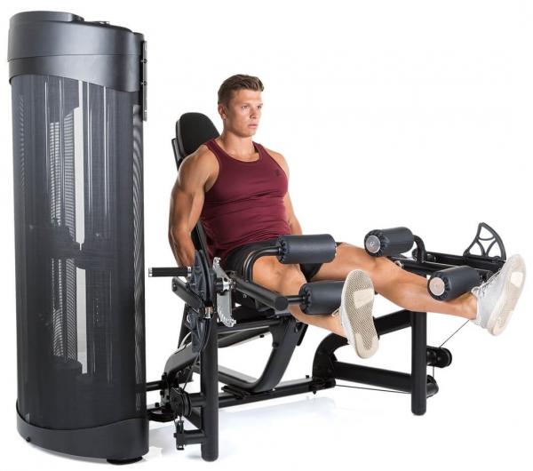 Finnlo Dual Station Leg Extension,Curl cvik 3