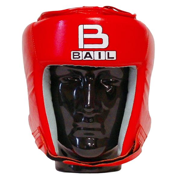 Boxerská přilba Standart BAIL červená