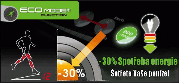 Běžecký pás eco mode