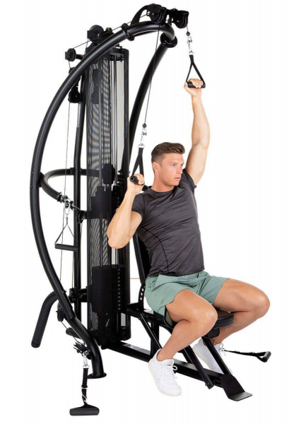 Posilovací věž  Finnlo Maximum Multi-gym M1 new cvik 1