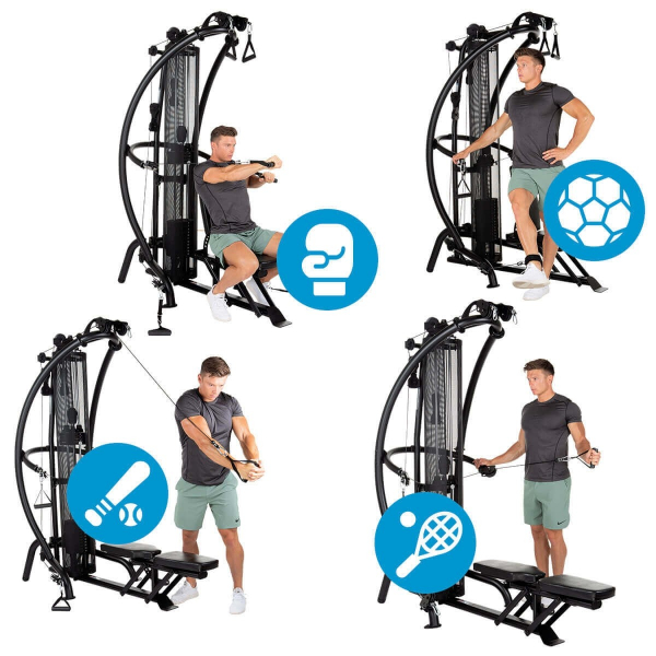 Posilovací věž  Finnlo Maximum Multi-gym M1 new více jak 50 variant cvičení