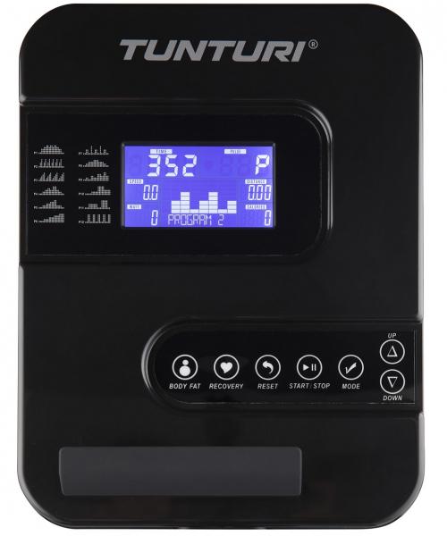 Eliptický trenažér Eliptický trenažér TUNTURI FitCross 40 počítač