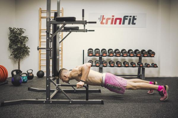 Posilovací lavice na břicho TRINFIT Multi Tower kliky