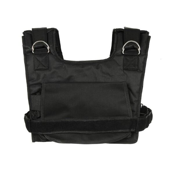 Zátěžová vesta DBX BUSHIDO krátká 1-10 kg pohled 1