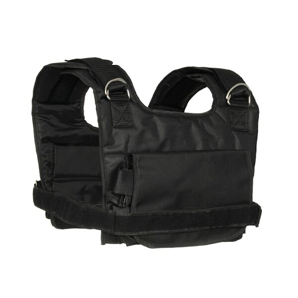 Zátěžová vesta DBX BUSHIDO krátká 1-10 kg zezadu