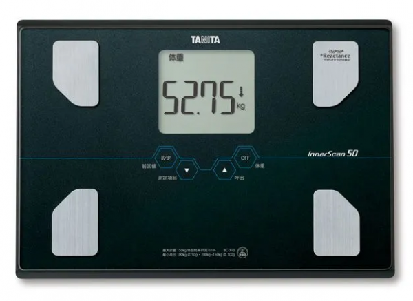 Osobní digitální váha TANITA BC-313 černá