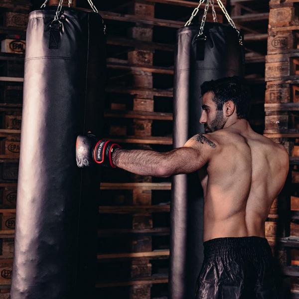 Boxerské rukavice na pytel nebo sparring BRUCE LEE Deluxe bag