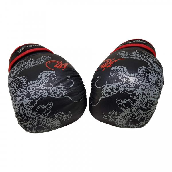 Boxerské rukavice na pytel nebo sparring BRUCE LEE Deluxe detail 1