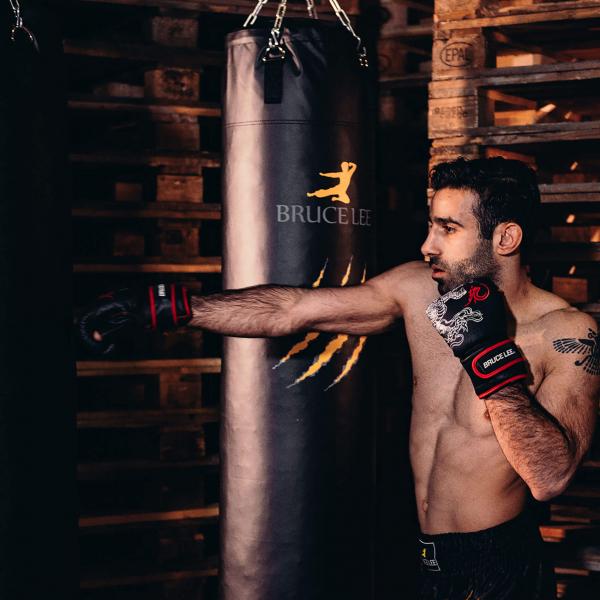 Boxerské rukavice na pytel nebo sparring BRUCE LEE Deluxe fight
