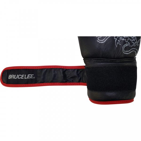 Boxerské rukavice na pytel nebo sparring BRUCE LEE Deluxe omotávka