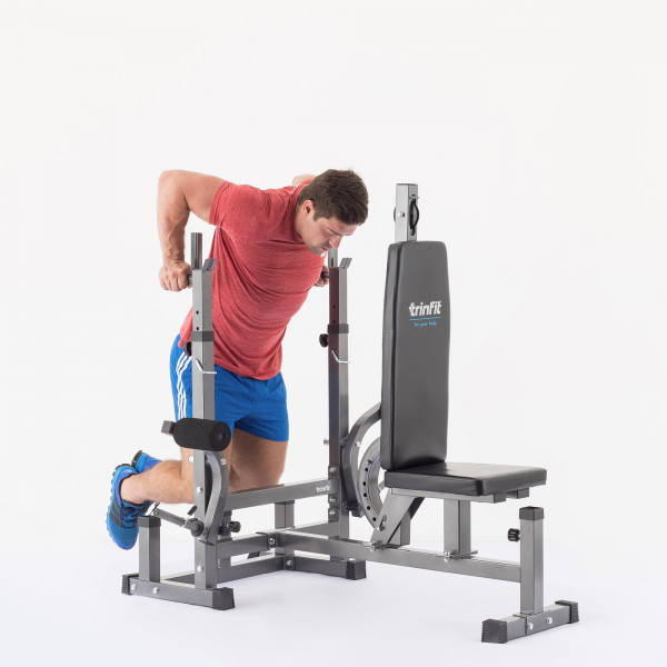 Posilovací lavice na bench press TRINFIT Bench FX5 cviky_20