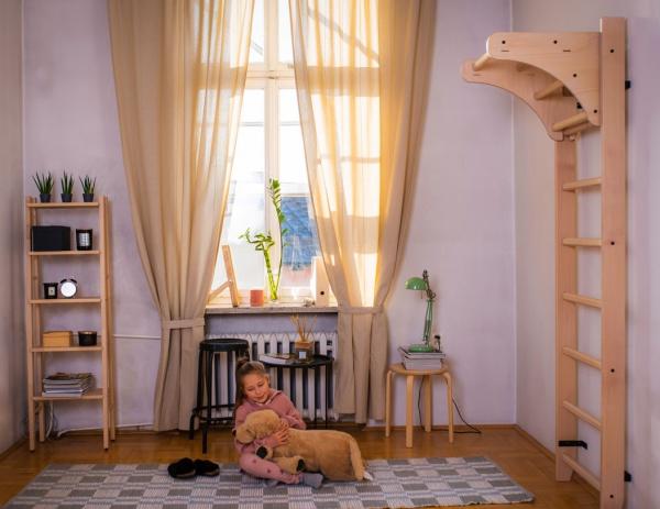 Závěsná hrazda dřevěná BenchK PB1 promo fotka 3
