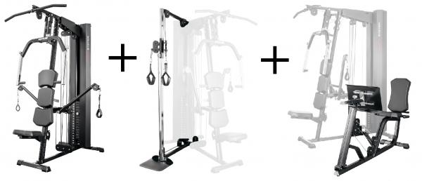 Kettler Kinetic Basic kladka + leg-press
