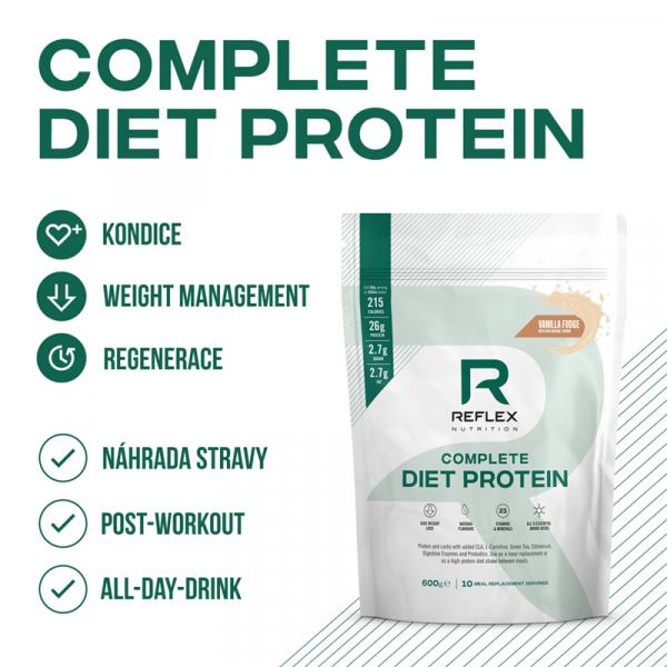 REFLEX Complete Diet Protein 600 g detaily