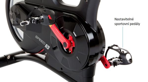 Cyklotrenažér HAMMER Speed Racer S nastavitelné pedály