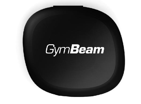 GymBeam Pill Box černý