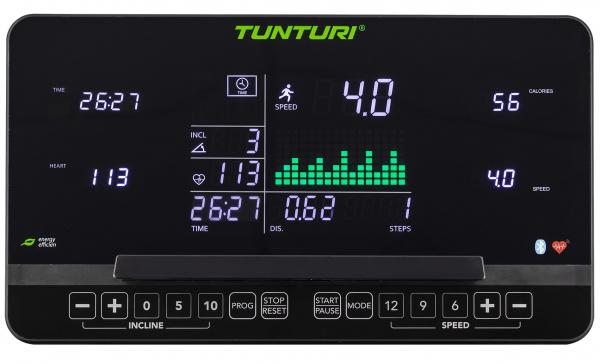 Běžecký pás Tunturi T80 Endurance počítač