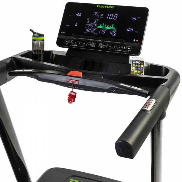 Běžecký pás Tunturi T80 Endurance profil počítače