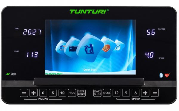 Běžecký pás Tunturi T85 Endurance počítač