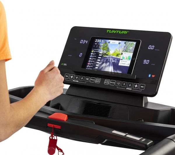 Běžecký pás Tunturi T90 Endurance držák na tablet