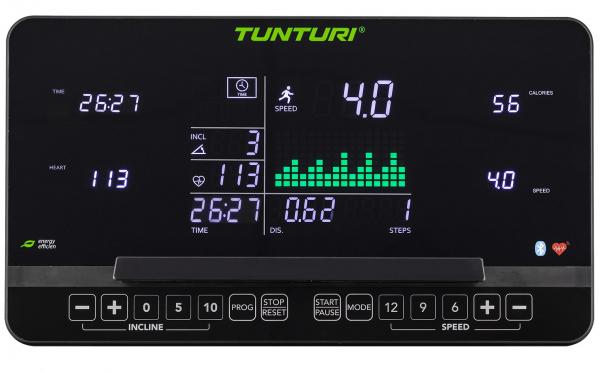 Běžecký pás Tunturi T90 Endurance počítač