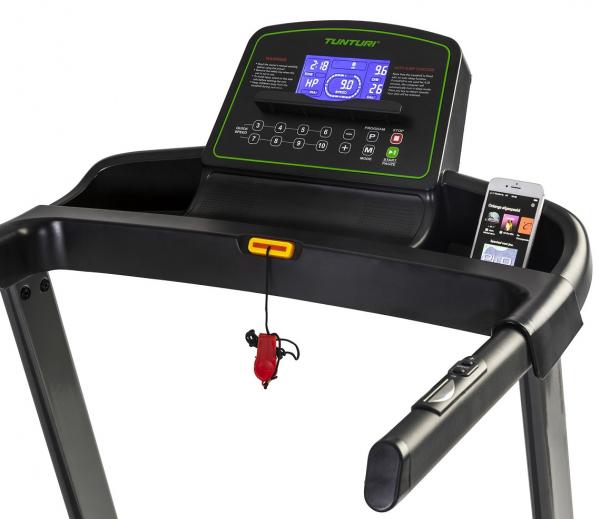 Běžecký pás Tunturi Cardio Fit T35 počítač z profilu